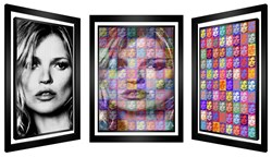 100% Kate by Patrick Rubinstein - Kinetic Original on Board sized 32x45 inches. Available from Whitewall Galleries